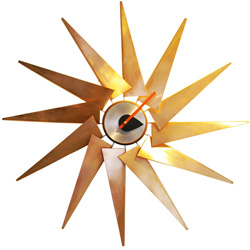 George Nelson Turbine Clock