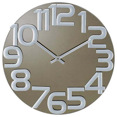 George Nelson Mirror Clock