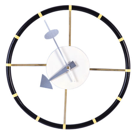 George Nelson Steering wheel clock