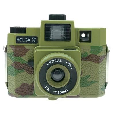 【トイカメラ】カラーホルガ COLOR HOLGA カモフラグリーン
