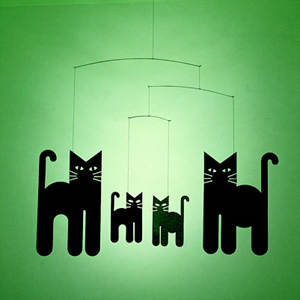 FLENSTED Cats Mobile