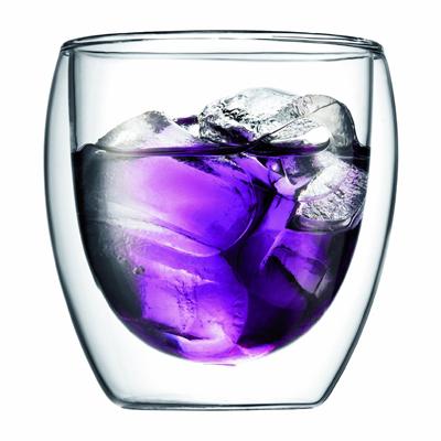 Bodum Pavina ダブルウォール保温グラス0.25L 2個セット