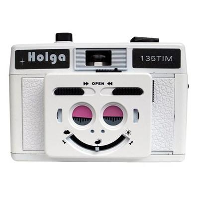 【トイカメラ】ホルガ HOLGA135TIM ホワイト
